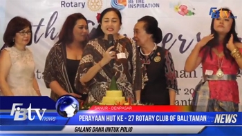 HUT KE-27 ROTARY CLUB OF BALI TAMAN